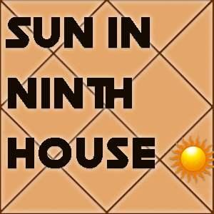 SUN IN THE TWELVE HOUSES in horscope online at atsroshastra