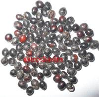 black chimri beads