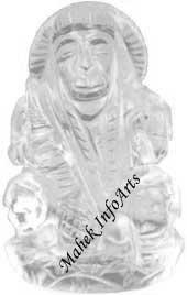 Crystal Hanuman