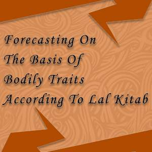 forcasting on the basis of bodily traits
