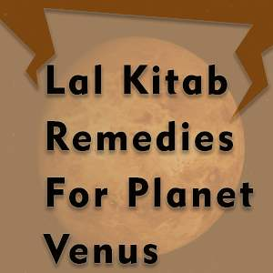 lal kitab remedies for venus